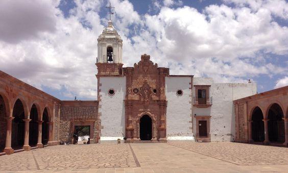 La Iglesia de la Bufa en Zacatecas .Mexico