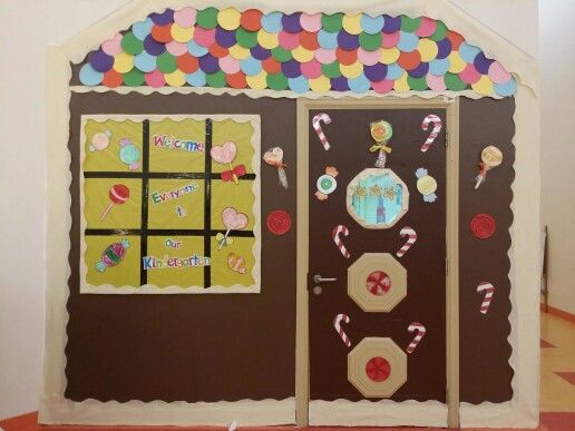 Candy House classroom... Finally done by Marian, Bushra & Hind :))))