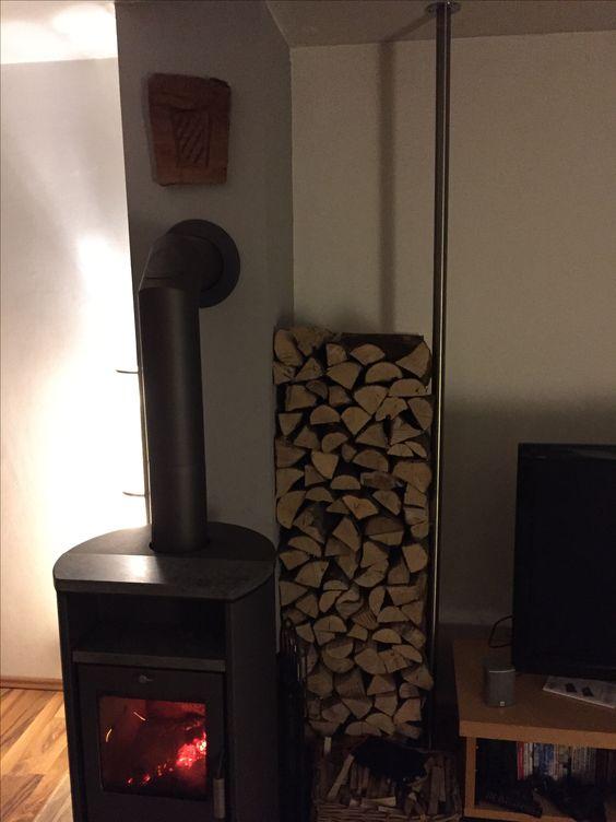 Einfaches Holzregal