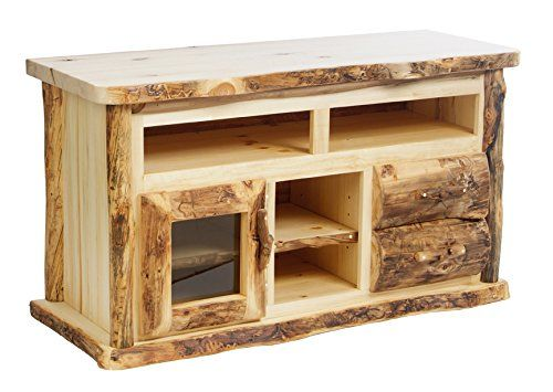 Solid Wood Tv Stand Furniture, Mountain Woods Furniture