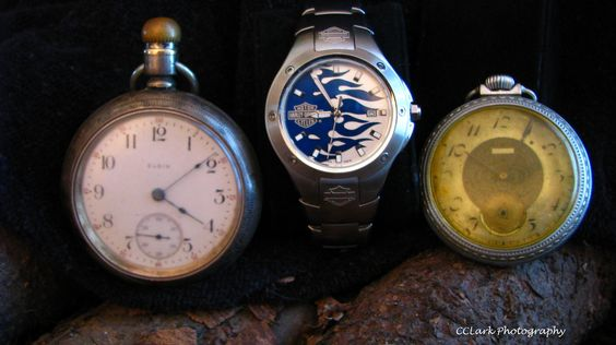 3 Generations of Watches