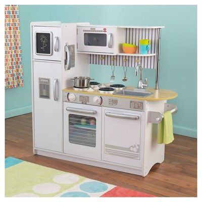 big w kidkraft petal kitchen - white | day care - play shops