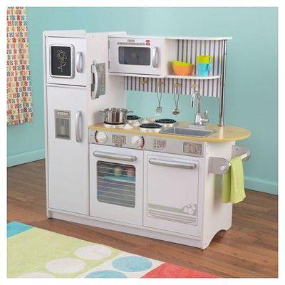 big w kidkraft petal kitchen - white | day care - play shops