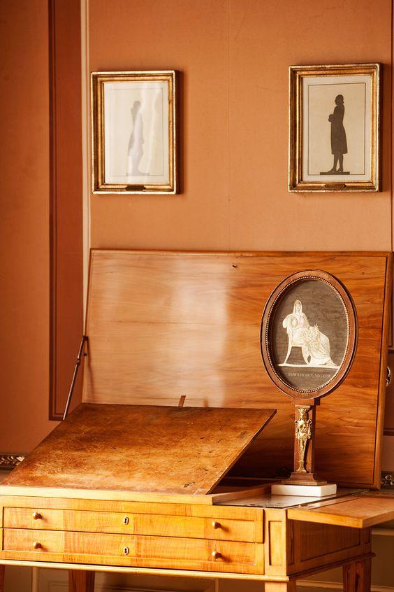Sekretär im Wittumspalais Klassisches Weimar Pinterest - design klassiker ferienwohnungen weimar