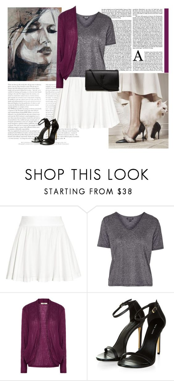 """Untitled #337"" by fashionista-jaygee ❤ liked on Polyvore featuring Alice + Olivia, Topshop, Oasis and Yves Saint Laurent"