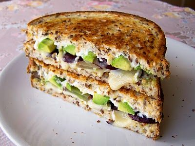 Brie, Grape & Avacado. . . not sure about this one!