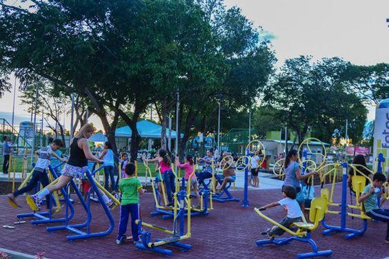Praça dos Bambus: Boa Vista ganha mais um espaço público. | Foto: Fernando Teixeira/Semuc