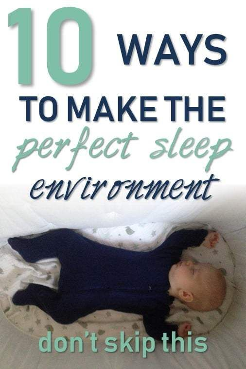 The Perfect Baby Sleep Environment With Images New Baby