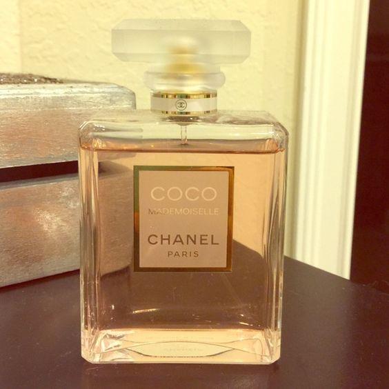 Coco mademoiselle Chanel perfume 100ml 3.4 fl oz Coco mademoiselle Chanel perfume 100ml 3.4 fl oz BIGGEST Bottle NO TRADES CHANEL Other