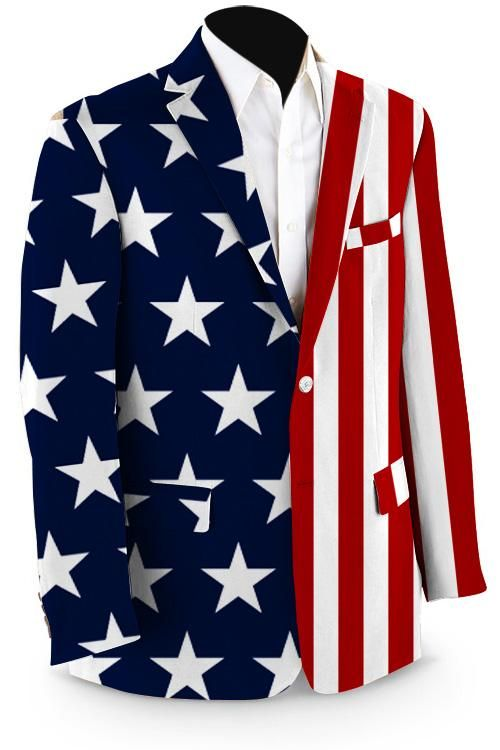 Fake Tuxedo Red White Blue American Flag Bow Tie Stars Suit US Hoodie Sweatshirt