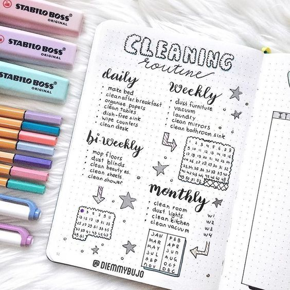 12 Monthly Bullet Journal Spreads That You Will Love!! This is EXACTLY what I needed! A list of bullet journal monthly spread ideas for inspiration. Cannot wait to try these bujo layouts next month. #bulletjournal #monthlyspreads