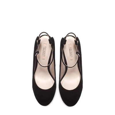 COURT SHOE WITH ANKLE STRAP - Stock clearance - Woman | ZARA United States