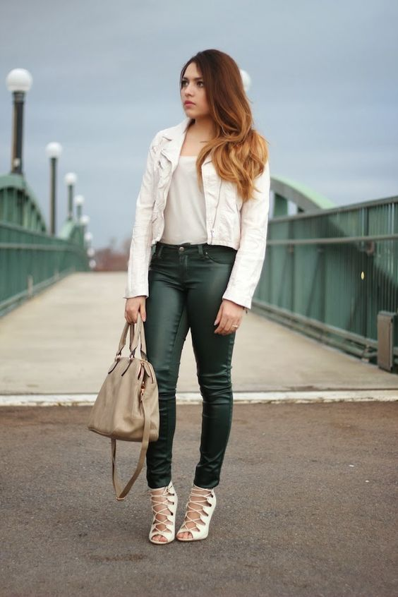 Leather on Leather | ashes into fashion | Dallas Fashion Blog