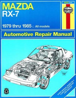 (Limited Supply) Click Image Above: Mazda Rx-7 Haynes Repair Manual (1979-1985)