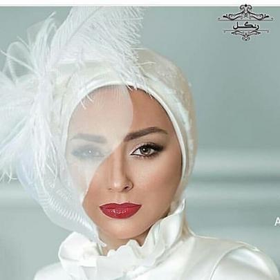 توربان عروس با حجاب