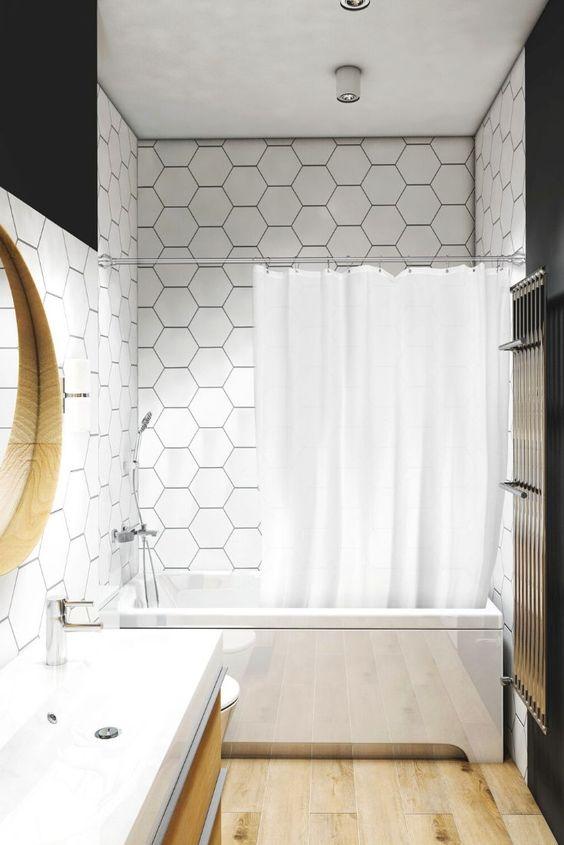 Vmbathrooms Duschvorhangstange In 2020 Duschvorhangstange Dusche Vorhange