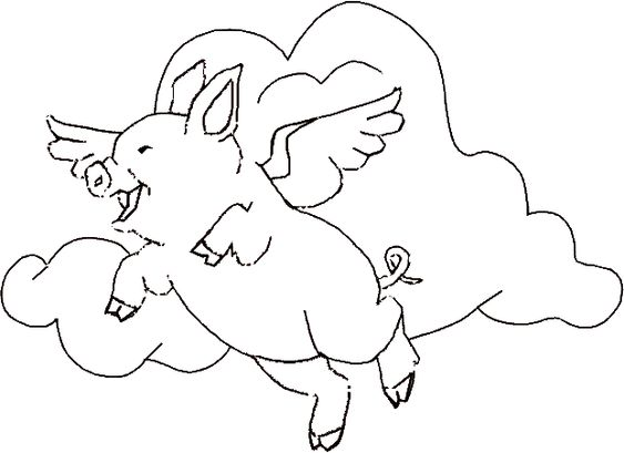 Real pig coloring pages coloring pages for Realistic pig coloring pages