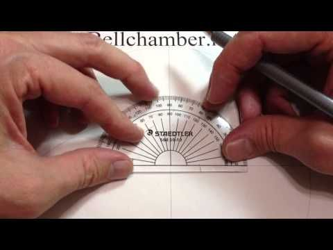 How to Draw Celtic Patterns 56 - a simple Triskele Knot into an irregular shape - 2of4