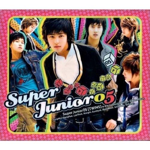 SUPER JUNIOR – SUPER JUNIOR 05 (TWINS) – The 1st Album