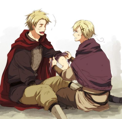 Hetalia- Denmark and Norway