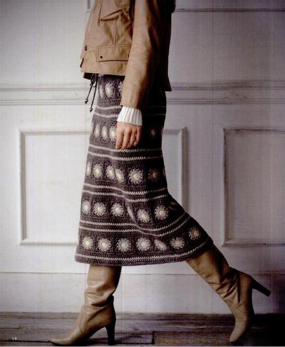 юбка | Записи с меткой юбка | Вязание спицами и крючком : LiveInternet - Российский Сервис Онлайн-Дневников