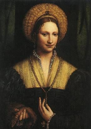 A Woman,  ca. 1525  (Bernardino Luini) (1480-1532)      National Gallery of Art, Washington, D.C.