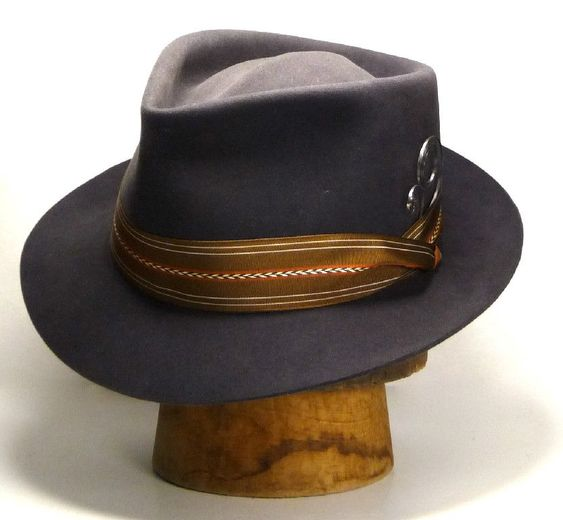 "Mens Hats - The REGULATEUR - Crown 4 1/2""; Brim 2 1/8"" #ThingstoWear"