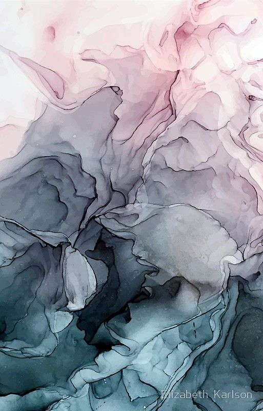 Blush And Payne S Grey Flowing Abstract Painting Cloud Painting Abstract Abstract Painting