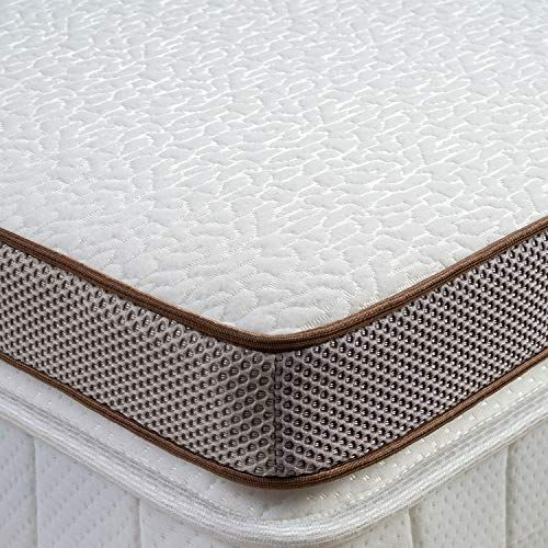 Bedstory 2 Inch Memory Foam Mattress Topper Cooling Gel Infused