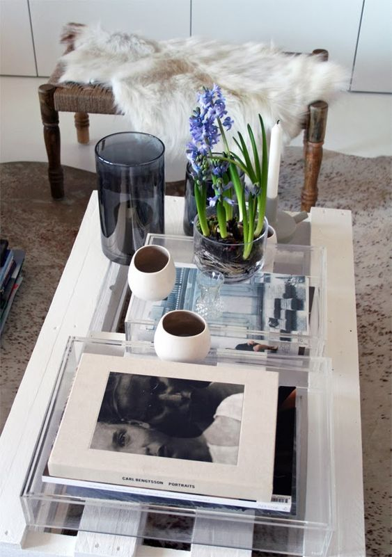 the coffee table