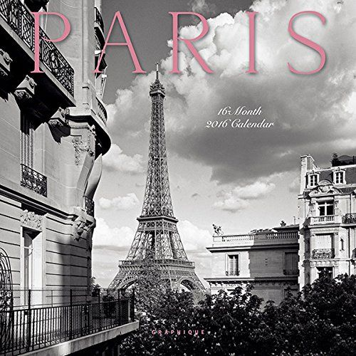 mini calendrier 2016 paris tour eiffel arc de triomphe paris vintage photo noir et blanc. Black Bedroom Furniture Sets. Home Design Ideas
