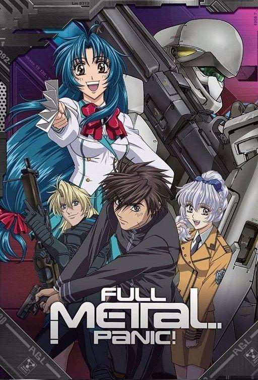 Poster De Full Metal Panic Anime Tokusatsu