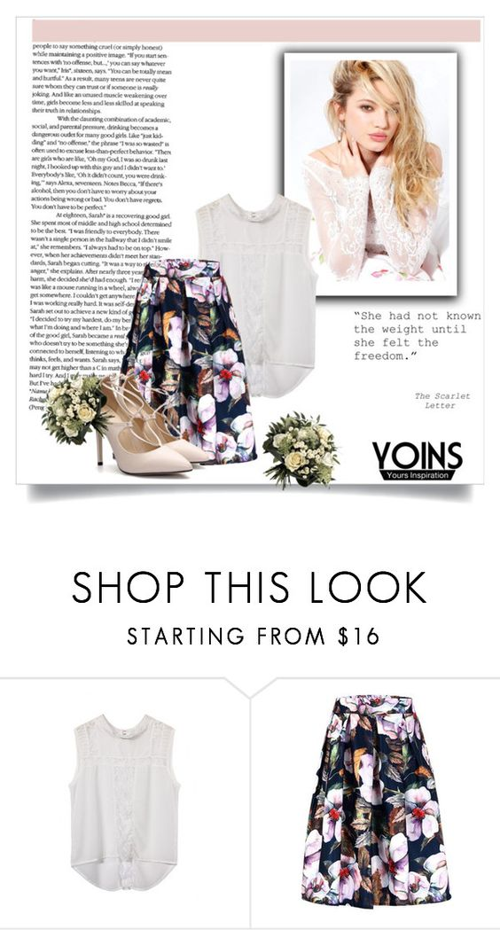 """YOINS 5"" by emily-5555 ❤ liked on Polyvore featuring Silvana"