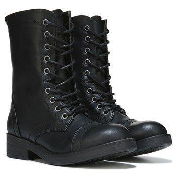 Madden Girl Women's Mavin Combat Boot at Famous Footwear