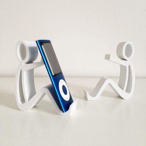 3d Telefonstand Byctrldesign Byctrldesign Telefonstand Mit Bildern 3d Drucker Vorlagen 3d Drucker 3d Druck Design