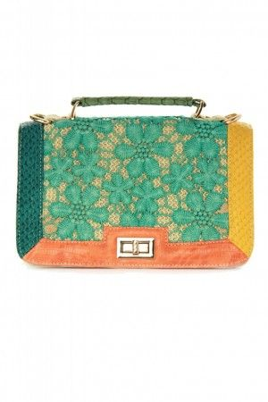 Teal purse. {Lace Affair}