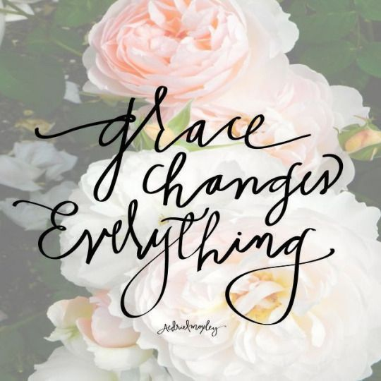 That is understated. Few recognize and/or understand the power and blessings that flow from Grace. Extend Grace at all times, to all people, and in every circumstance. It will change everything - and most importantly YOU!