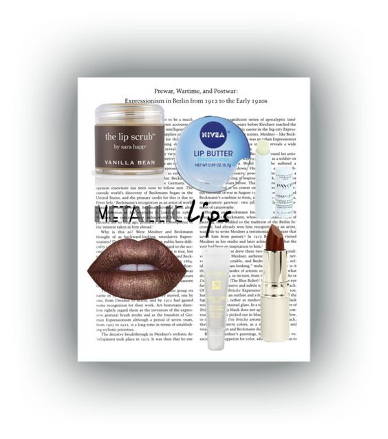 """""""Lip Love"""" by jaylynn-281 on Polyvore featuring beauty, Lime Crime, Nivea, Sara Happ, Payot, TheBalm, Lancôme and metalliclips"""