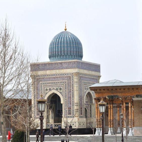 Samarkand Tours - Al-Bukhari Mausoleum  #samarkandtours