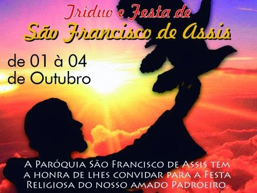 Blog Matheus e Silmara: Vai dar inicio as festividade de São Francisco de ..