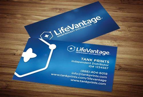 Lifevantage Business Cards Tank Prints Lifevantage Business Business Card Design Business Cards