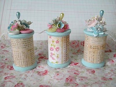 adorable altered spools