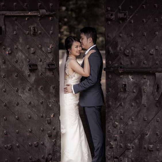 Love is a funny little thing.  Photography by @shermho  #love #happiness #bride #groom #singapore #sgwedding #sgbrides #prewedding #weddingday #weddinggown #weddingdress #weddingbells #destinationwedding #tietheknot #newlyweds #heputaringonit #lovebirds #couple by mosaicstudiossg