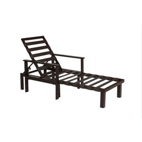 Lowes Allen Roth Universal Patio Chaise Lounge Daybed