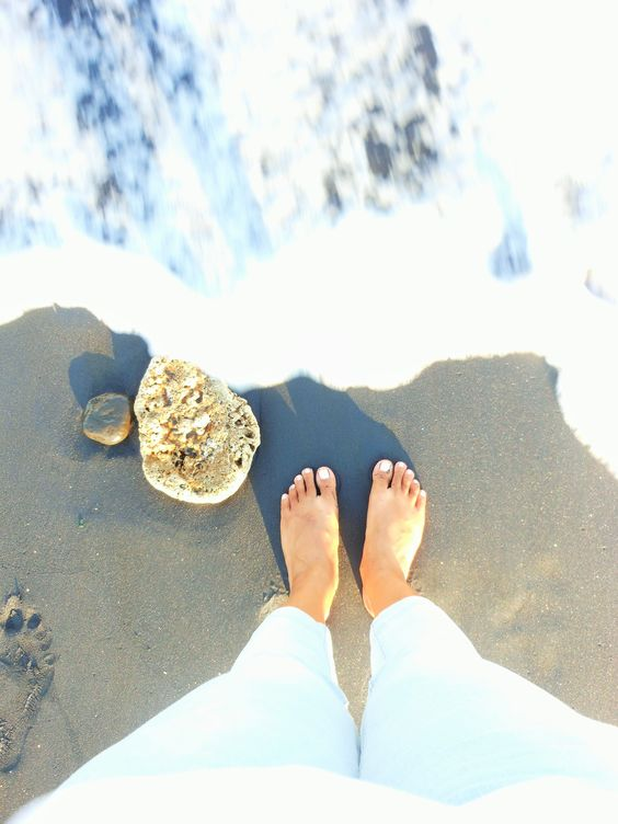 The Black sand Beach on Saba Beach, Gianyar, Bali. Bali, September 2014