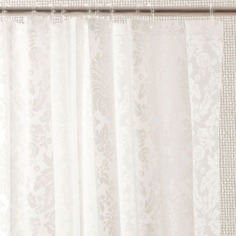 Cortina de ba o damasco canada showers and curtains for Cortinas bebe zara home