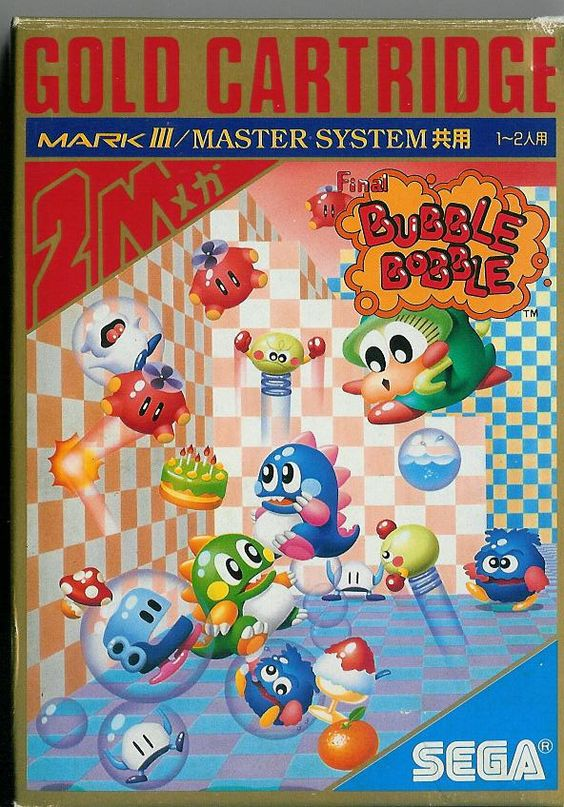 Final Bubble Bobble (Mark III) (Front).jpg 592×848 pixels