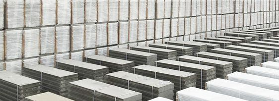 Expanded Polystyrene Foam Concrete Sandwich Panel Stacking