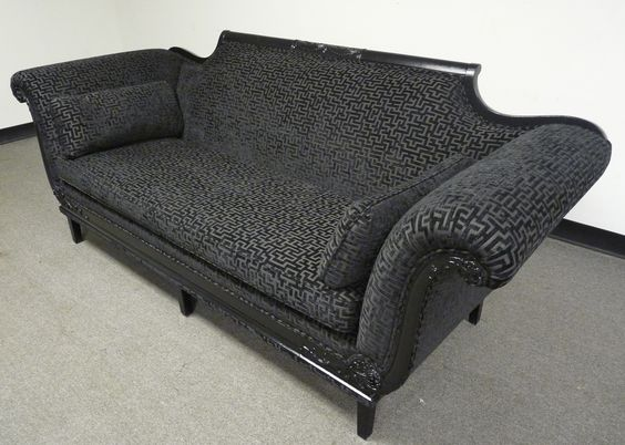Duncan Phyfe Sofa Reupholstered By Kelly At Twice. Www