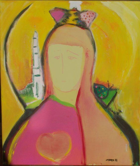 Nossa Senhora de Fátima: Lady, Of Fatima, Pintura Com Amor, Our Lady